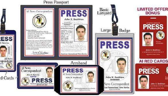 Удостоверения журналистов – всем желающим?