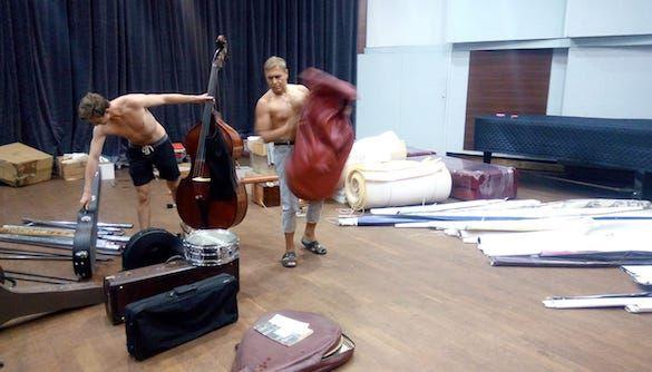 Потоп в Доме звукозаписи Украинского радио чуть не уничтожил инструменты и ноты
