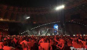 Вакарчук під час концерту на «Олімпійському» закликав звільнити Сенцова та присвятив йому пісню