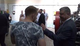 У Миколаєві журналісту «НикВести» не дали поставити запитання Порошенку (ДОПОВНЕНО)