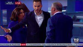 Богословская и Червоненко почти подрались в эфире «112 Украина» после спора о цензуре на каналах
