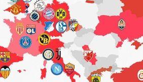 Польське спортивне видання опублікувало карту України без Криму