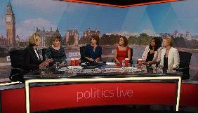 На нове політичне ток-шоу BBC не запросили жодного чоловіка
