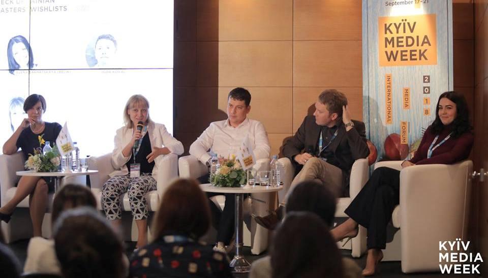Чому українські канали показують оце? Дискусія аналітиків і програмних директорів на Kyiv Media Week