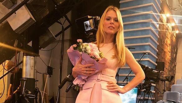 Фреймут сильно повредила спину на съемках шоу «Оля»