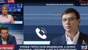 СБУ продовжує слідство через висловлювання Мураєва про Сенцова