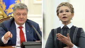 Тимошенко «лякає», Порошенко «заспокоює»