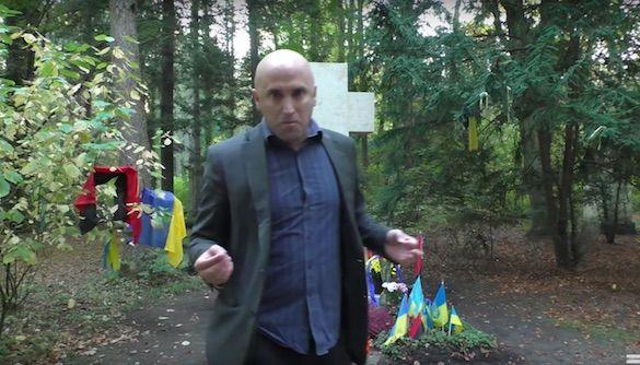 Скандальный пророссийский журналист поиздевался над могилой Бандеры в Германии