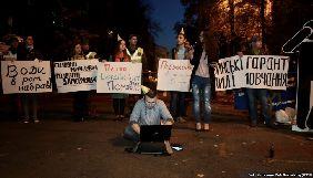 Журналісти та активісти під АП вимагали від Порошенка реакції на інтерв'ю Семочка