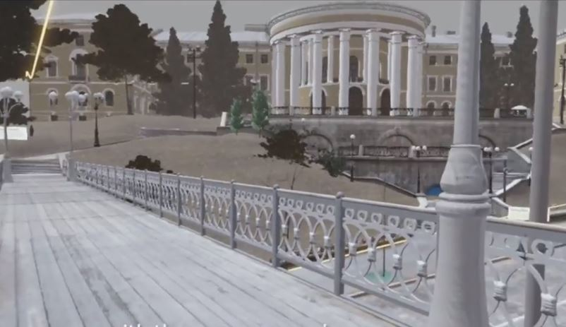Розстріл на Інститутській у віртуальній реальності
