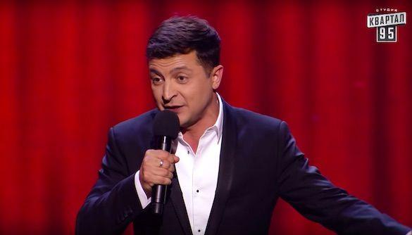 Зеленский на концерте сделал заявление насчет баллотирования в президенты