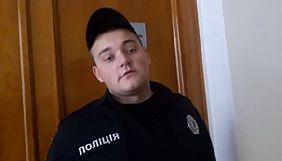 У Кропивницькому поліцейський не пустив журналіста на апаратну нараду