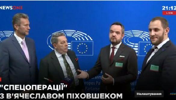 Обережно! Консерви вибухають! NewsOne та 112-го захищають євросимпатики РФ