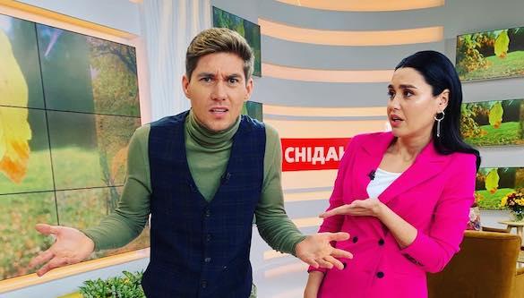 Владимир Остапчук заменил Руслана Сеничкина в «Сніданку з 1+1»