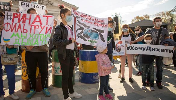 Е — екологія. Як медіа Ахметова борються з екоактивістами в Маріуполі