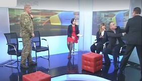 Барна и Левченко подрались в эфире «Рады» и побили телеоборудование
