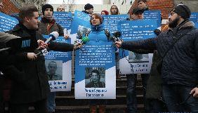 У Києві провели акцію на підтримку Сенцова, Сущенка та інших політв'язнів