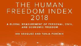 Індекс свободи людини: Україна між ОАЕ і Республікою Того, Росія нижче