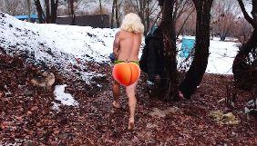 Александр Педан показал голые ягодицы, копируя фото Оли Поляковой