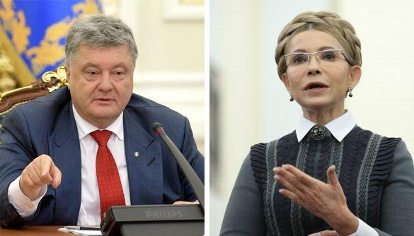 Tymoshenko provokes anxiety, Poroshenko injects tranquility