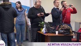 Депутати увірвалися у телецентр суспільного мовника Угорщини з метою вийти в прямий ефір