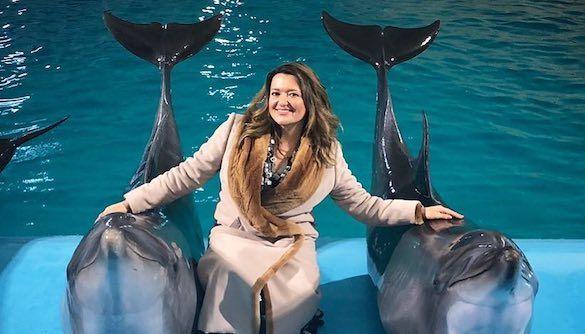 Могилевская извинилась за развлечения с дельфинами