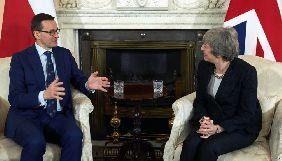 Прем'єрка Великобританії оголосила про намір допомогти Польщі боротися з російськими фейками