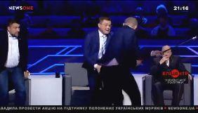 Мосійчук і Семченко побилися в студії Піховшека