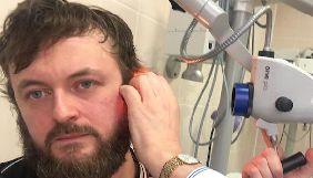 Избитый Dzidzio госпитализирован и боится потерять слух