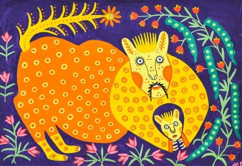 За мотивами робіт української художниці Марії Примаченко знімуть мультсеріал та створять мурал
