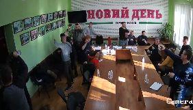 Поліція затримала Стремоусова за підозрою в нападі на офіс газети «Новий день»