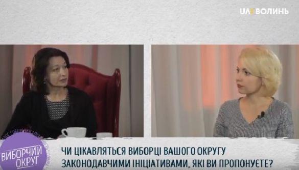 «Виборчий округ» на «UA: Волині»: не вистачає дискусії