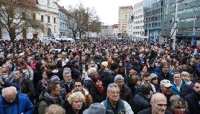 У Словаччині вшанували пам'ять вбитого журналіста Яна Кучака та його нареченої