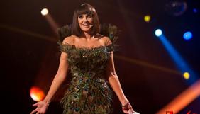 Оксана Марченко поразила зрителей платьем из перьев (ФОТО)