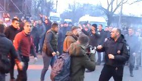 У Києві та Черкасах націоналісти вимагали арешту фігурантів розслідування програми «Наші гроші»