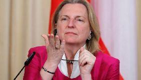 Глава МЗС Австрії під час візиту до Москви закликала звільнити Сенцова та інших політв'язнів