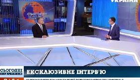 Петро Порошенко дав ексклюзивне інтерв'ю телеканалу «Україна»