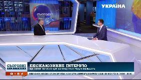 О чем говорил Петр Порошенко с Олегом Панютой на «Украине»