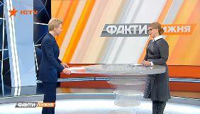 О чем говорила Юлия Тимошенко с Оксаной Соколовой на ICTV