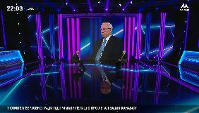 Грановський на телеканалі «Наш» взяв інтерв'ю в Азарова за допомогою системи доповненої реальності