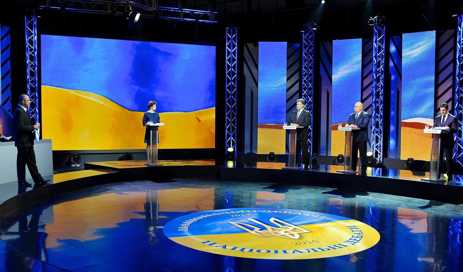 Національні дебати, набирання обертів: Порошенко, Цушко, Шкіряк