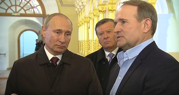Путін та Медведчук вирішують проблеми на «Україні»