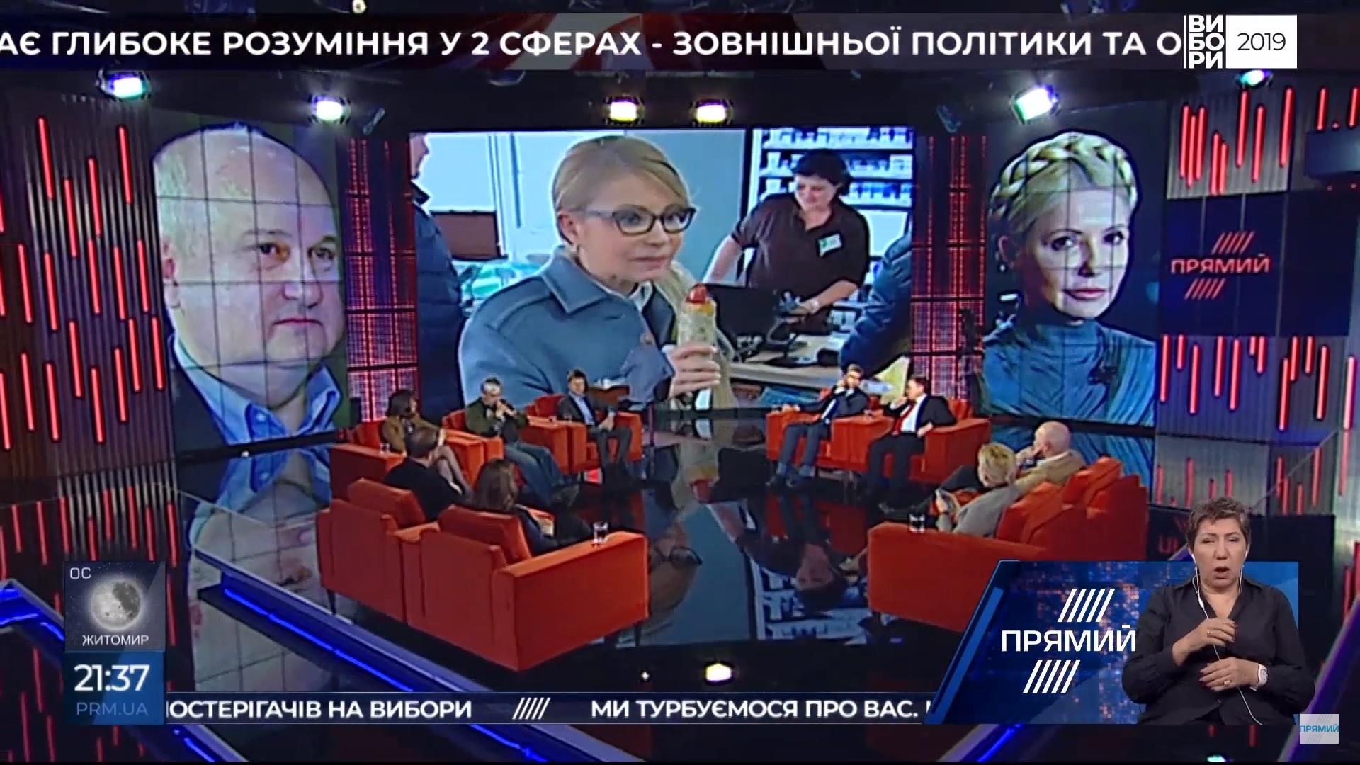 «Чи допоможе Тимошенко сосиска?». Огляд ток-шоу 18–22 березня 2019 року