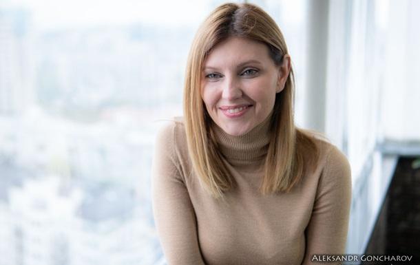 Дружина Зеленського розповіла, що не радила йому виходити до журналістів