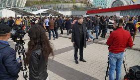 На дебати на «Олімпійському» акредитувалися близько 500 журналістів і представників ЗМІ