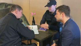 Поліція вручила Зеленському протокол за показаний журналістам заповнений бюлетень