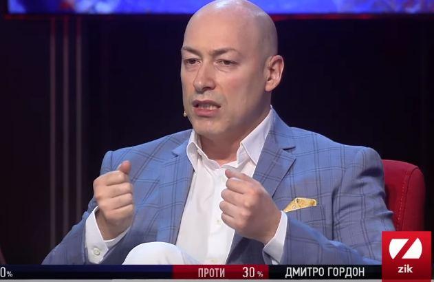 Журналіст Дмитро Гордон заявив, що більше не буде з'являтись на каналі ZIK