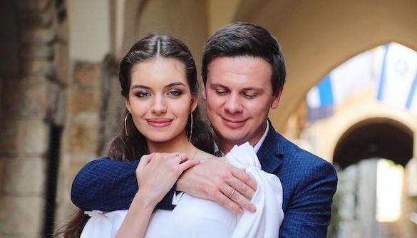 Дмитрий Комаров женился на своей партнерше из «Танців з зірками»