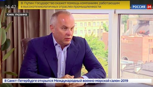 Нестор Шуфрич дал интервью любимой журналистке Януковича о не состоявшемся телемосте
