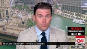 Телеканал CNN потрапив у скандал після інтерв'ю із прихильником ідеології «білого расизму» Спенсером